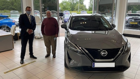 Toomey Nissan hands over its first All-New Qashqai!