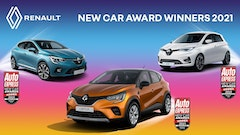Renault wins a trio of awards at the 2021 Auto Express Awards