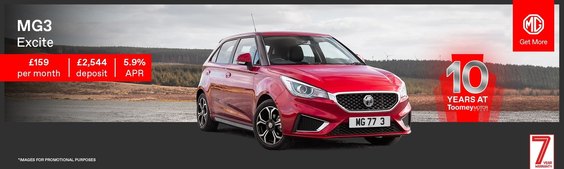 MG MG3 New Car Offer