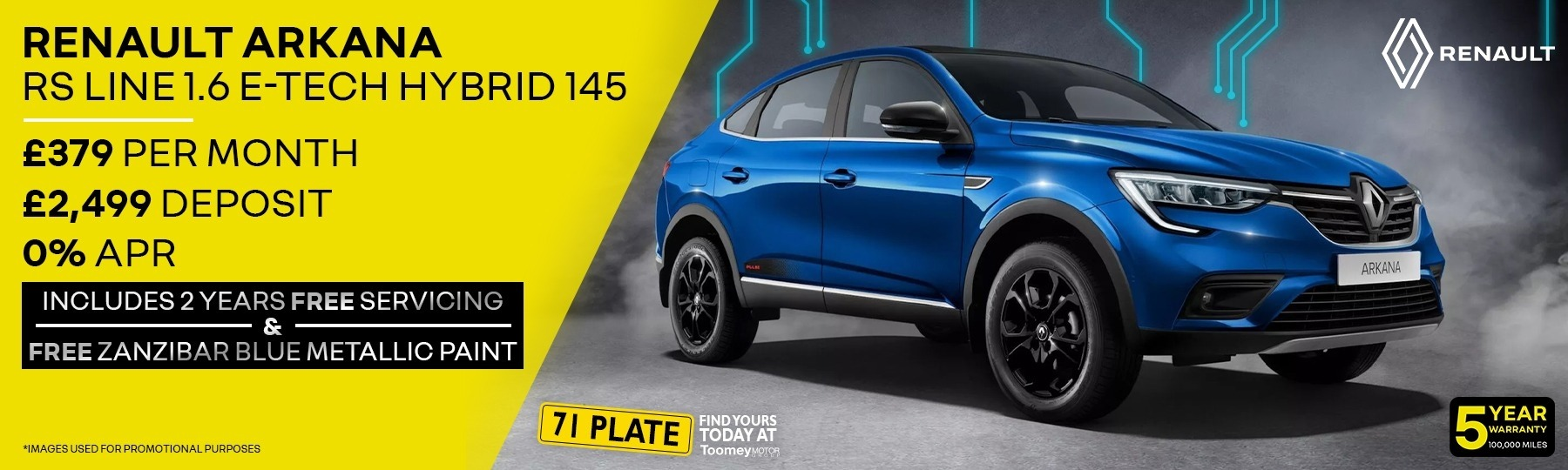 All-New Renault Arkana New Car Offer