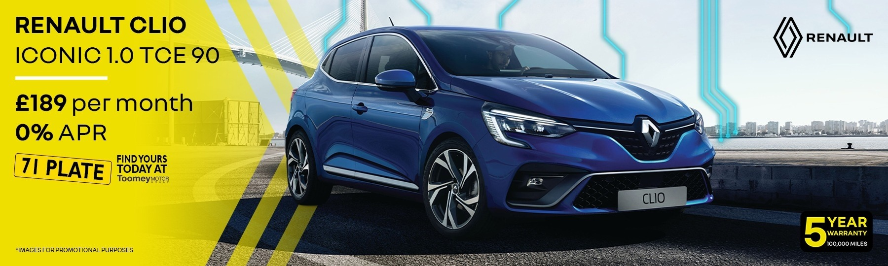renault Clio New Car Offer