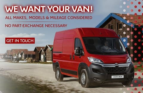 We want your Van!