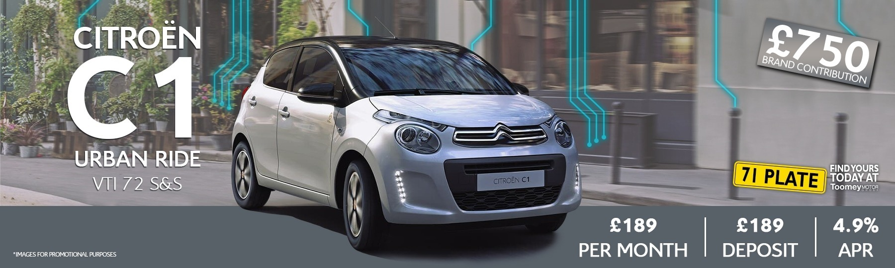citroen C1 New Car Offer